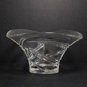 Waterford Crystal Accents - Waterford Marquis Trillium Bowl Triangle EUC